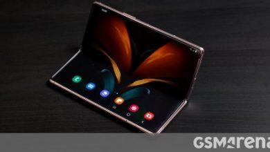 صورة يعد Samsung Galaxy Z Fold2 رسميًا مع شاشات أكبر ، ومفصلة ملاذ جديد