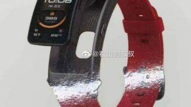 صورة تسريب الإسوارة الذكية Huawei TalkBand B6، والجهاز اللوحي Huawei Tablet C5 10
