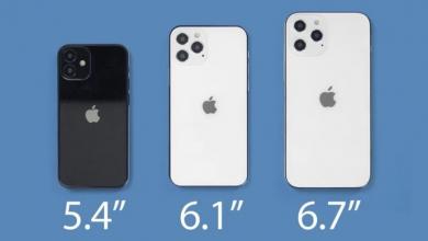 صورة تقرير يؤكد على خطط ابل لإطلاق هواتف iPhone 12 بحجم 6.1 إنش في البداية للأسواق