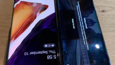صورة صور حية تكشف عن واجهة مخصصة لهاتف LG Wing المرتقب