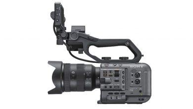 صورة كاميرا الفيديو E-mount كاملة الإطار من سوني FX6 في طريقها