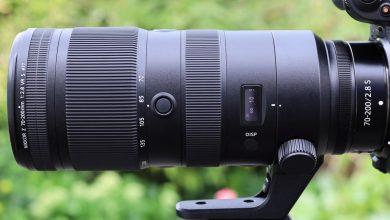 صورة مراجعة نيكون Z 70-200mm f / 2.8 VR S.