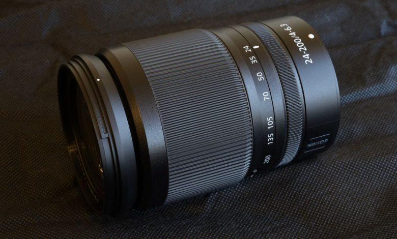صورة مراجعة Nikon Z 24-200mm f / 4-6.3 VR