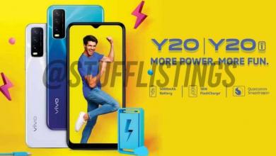 صورة مواصفات هاتفي VIVO Y20 وY20I قبل الإعلان الرسمي
