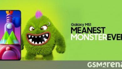 صورة إطلاق Samsung Galaxy M51 في الهند في 10 سبتمبر