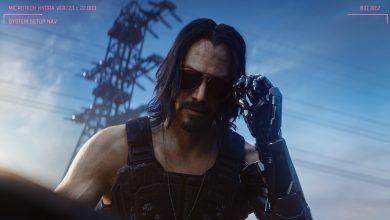 """صورة شاهد الممثل """"كيانو ريفز"""" و هو يتألق في إعلان Cyberpunk 2077 جديد!"""