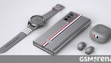 صورة يتم بيع إصدار Samsung Galaxy Z Fold2 Thom Browne في الصين في غضون 4 دقائق فقط