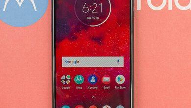صورة مراجعة هاتف Moto Z3