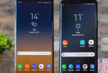صورة Samsung Galaxy S9 + vs Galaxy Note 8