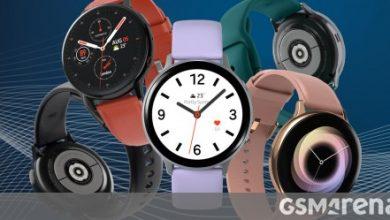 صورة يضيف تحديث Samsung Galaxy Watch Active2 قياس VO2 max والرد الذكي للمحادثات