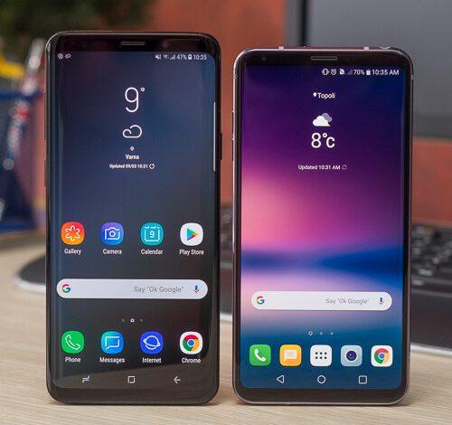 صورة Samsung Galaxy S9 + vs LG V30