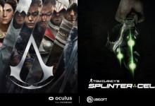 صورة ألعاب 'Assassin's Creed' و'Splinter Cell' تتوفر قريباً على منصة Oculus