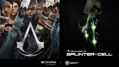 ألعاب 'Assassin's Creed' و'Splinter Cell' تتوفر قريباً على منصة Oculus