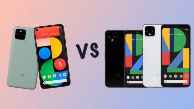 صورة Google Pixel 5 vs Pixel 4 vs 4 XL: ما الفرق المشاع؟