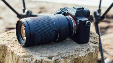 صورة أصغر وأخف وزنًا في العالم 70-300 مم من Tamron لكاميرات Sony غير المزودة بمرآة