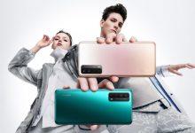 صورة الإعلان رسميًا عن الهاتف Huawei Y7a مع شاشة أربع كاميرات في الخلف، وبطارية بسعة 5000mAh