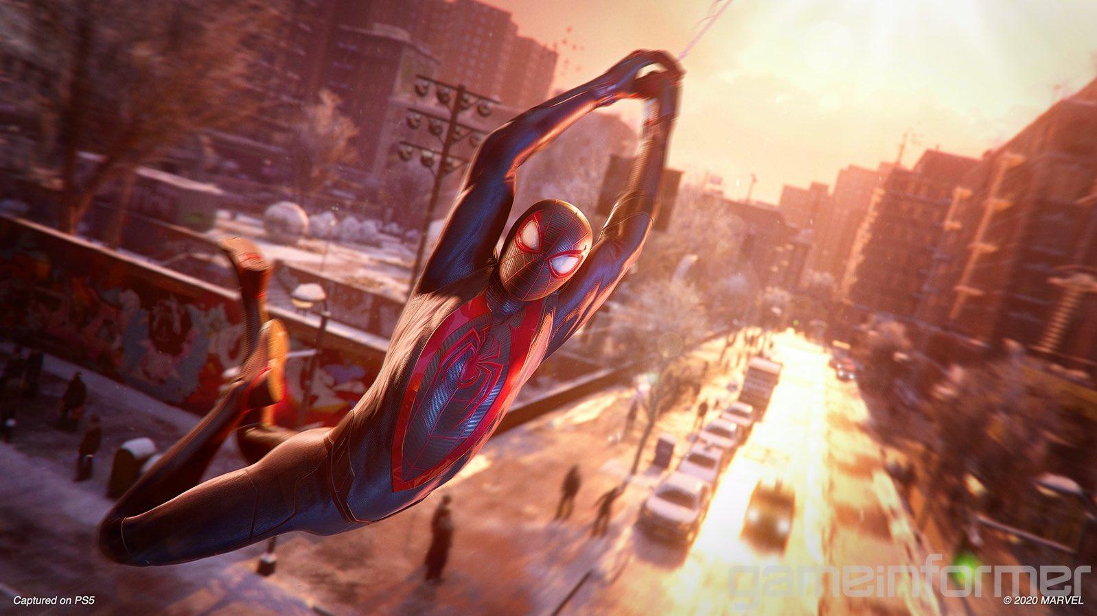 PS5 Spiderman Miles Morales