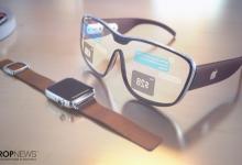 صورة نظارات الواقع المعزز من آبل قد تسمح للمستخدمين بمقارنة المنتجات بجانب بعضها البعض