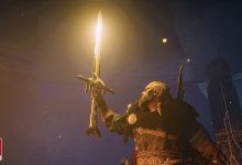 صورة نعم يمكنك السفر لأمريكا وسيف Excalibur موجود في AC Valhalla!