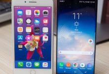 صورة Apple iPhone 8 Plus vs Samsung Galaxy Note 8