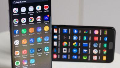 صورة Samsung Galaxy Note 8 مقابل OnePlus 5