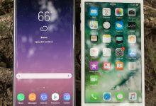 صورة Samsung Galaxy Note 8 مقابل Apple iPhone 7 Plus