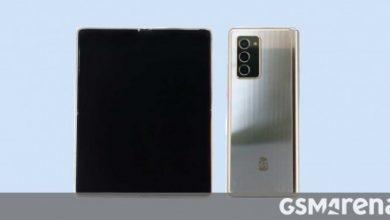 صورة يمر Samsung Galaxy W21 5G بواسطة TENAA ، يشبه إلى حد كبير Galaxy Z Fold2
