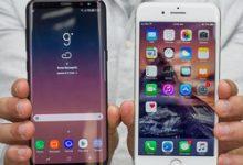 صورة Samsung Galaxy S8 + vs Apple iPhone 7 Plus