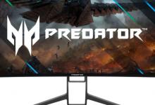 صورة Acer تكشف عن الشاشات الجديدة المخصصة للألعاب بتصميم نحيف للإطارات