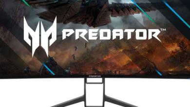 Acer تكشف عن الشاشات الجديدة المخصصة للألعاب بتصميم نحيف للإطارات