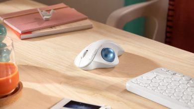 صورة Logitech تكشف عن فأرة لاسلكية جديدة مريحة تضم كرة تتبع مدمجة