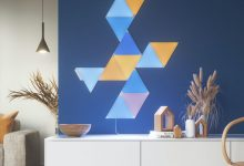 صورة Nanoleaf تكشف عن لوحات مضيئة جديدة بتصميم مثلث، ومتوافقة مع منصة HomeKit