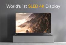 صورة Realme تعلن عن جهاز Smart TV SLED 4K بحجم 55 إنش ومكبر Sound Bar بقدرة 100W