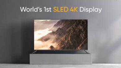 Realme تعلن عن جهاز Smart TV SLED 4K بحجم 55 إنش ومكبر Sound Bar بقدرة 100W