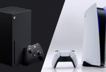 صورة تقرير يؤكد على تسجيل سوني ومايكروسوفت مبيعات مرتفعة لأجهزة XBOX SERIES X وPS5
