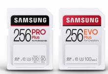 سامسونج تكشف عن بطاقات PRO Plus وEVO Plus SD بسرعة تصل إلى 100 ميجابايت في الثانية