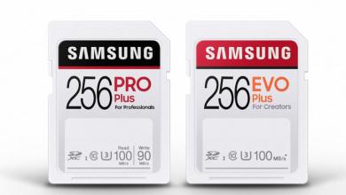 صورة سامسونج تكشف عن بطاقات PRO Plus وEVO Plus SD بسرعة تصل إلى 100 ميجابايت في الثانية