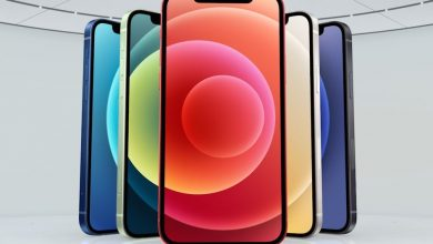 صورة iPhone 12 رسمي ، 5G وملون