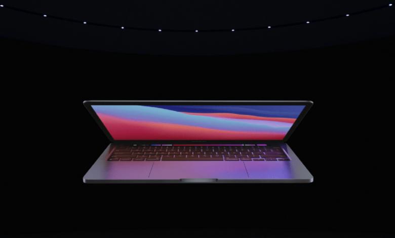 صورة ابل تكشف النقاب عن أول الأجهزة المميزة برقاقة M1 في MacBook Pro بحجم 13 إنش