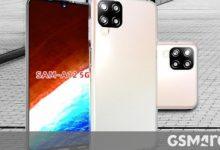 صورة تُظهر صور الحالات أن Galaxy A12 5G سيكون له تصميم مشابه لـ A42 5G و M12