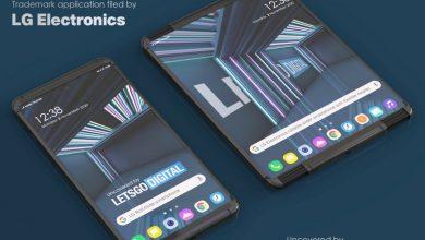 صورة هاتف LG القابل للف قد يحمل إسم LG Rollable، وقد يصل في شهر مارس المقبل