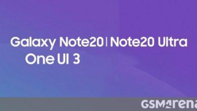 صورة تفتح Samsung One UI 3.0 beta لسلسلة Galaxy Note20