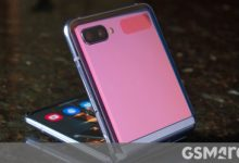صورة قد يكون Samsung Galaxy Z Flip Lite في الطريق