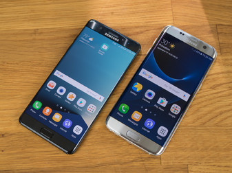 Samsung Galaxy Note 7 مقابل Samsung Galaxy S7 Edge