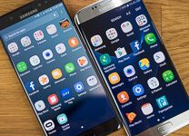 صورة Samsung Galaxy Note 7 مقابل Samsung Galaxy S7 Edge