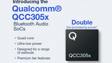 كوالكوم تعلن عن سلسلة شرائح QCC305x التي تدعم الجيل القادم من السماعات اللاسلكية
