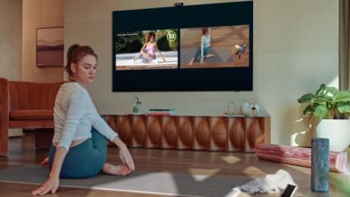 سامسونج تقدم أجهزة التلفاز الجديدة بميزة تعقب المستخدم عند ممارسة التمارين الرياضية #CES2021