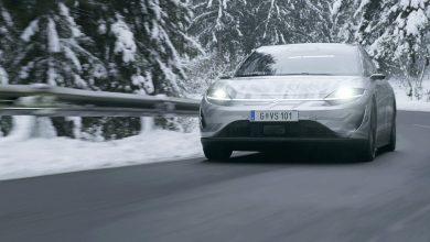 بالفيديو: سوني تختبر سيارتها الكهربائية Vision-S على الطرق العامة #CES2021