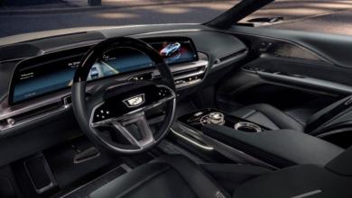 Cadillac تستعرض تصميم شاشة OLED لسيارة Lyriq الكهربائية القادمة #CES2021