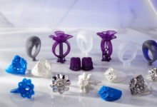 Formlabs تطور Castable Wax 40 لطباعة المجوهرات ثلاثية الأبعاد  #CES2021